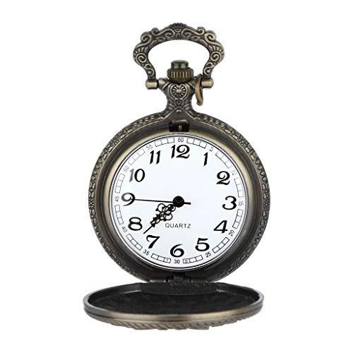 Pocket Watch Ornament - Mens Watches,Fxbar Retro Roman Numerals Pocket Watch Child Baby Gift Necklace Watches Commemorative Clock(E)