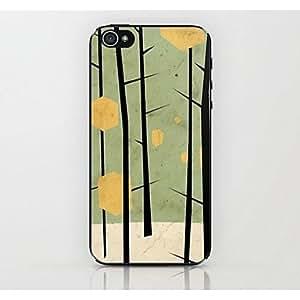 HC- caso duro del patrón de la rama para el iphone 4 / 4s