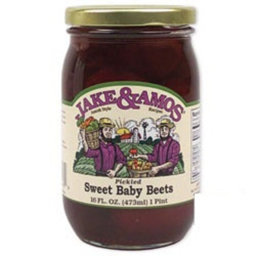 Jake & Amos Pickled Sweet Baby Beets (16oz)