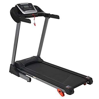 Electric Treadmill Foldable Running Jogging Fitness Machine for Home & Gym