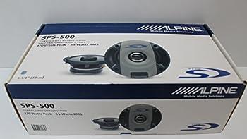 Alpine Sps500 Sps-500 Sps-500 Type-s 5-14 2-way Car Speakers 1