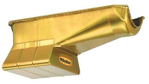 Milodon 30900 Steel, Gold Zinc Plated Street and Strip Oi...