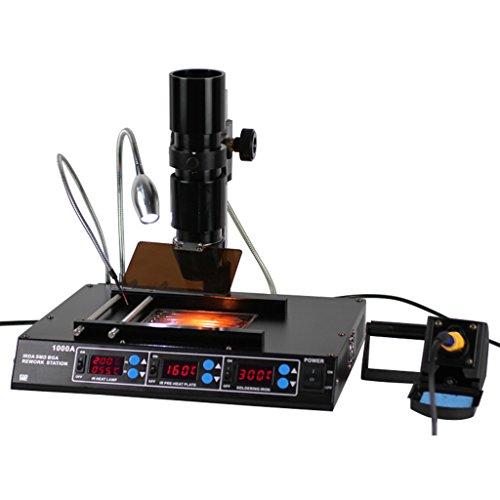 Wotefusi Industrial New 110V Multi-function Infrared BGA Rew