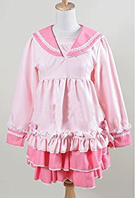 Un montš®n de Vocaloid Miku Vestido de risa rosado del traje de ...