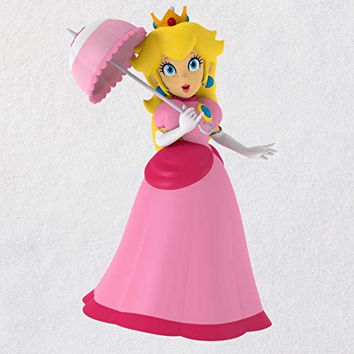 Hallmark Keepsake Christmas Ornament 2019 Year Dated Nintendo Super Mario Princess Peach,