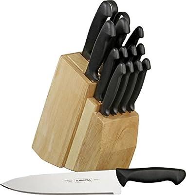 Tramontina 80020/506 15 Piece Cutlery Block Set New in Box