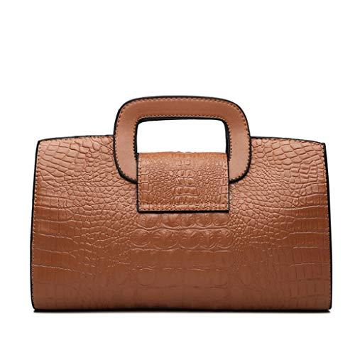Per Brown colore Da S Donna Red Piccola Dimensioni Borsa Viaggio 4qBE7zwv4A