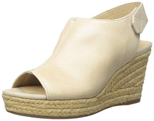 Geox Women's D Soleil Espadrille Wedge Sandal, Skin, 41 EU10.5 11 M US