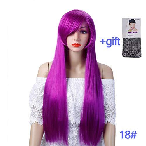 Peony red Women's Costume Wigs 18 -