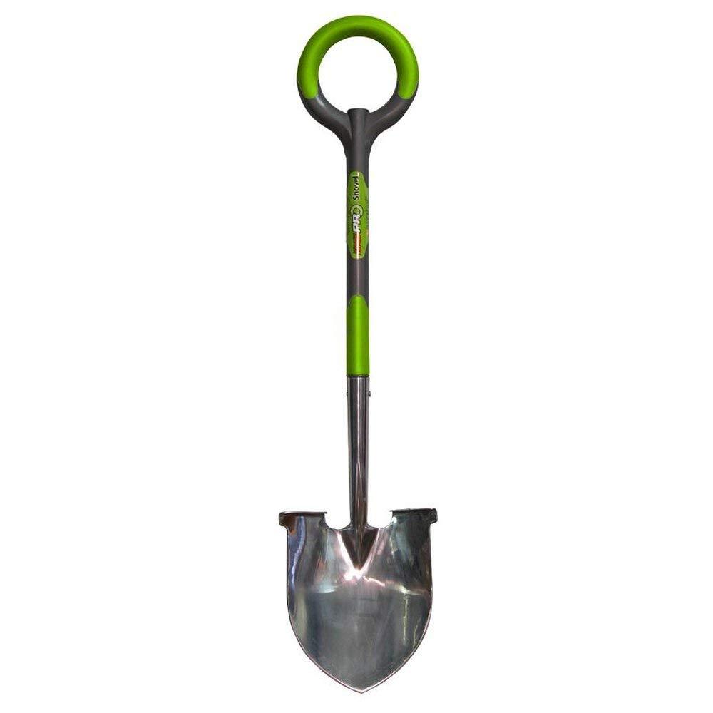 Radius Garden PRO 41'' All Purpose Stainless Ergonomic Round Shovel (4 Pack)