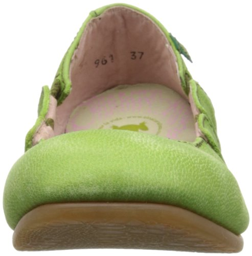 El Green El Naturalista Antique Naturalista Flat Croche Womens Womens N961 qEAEzp