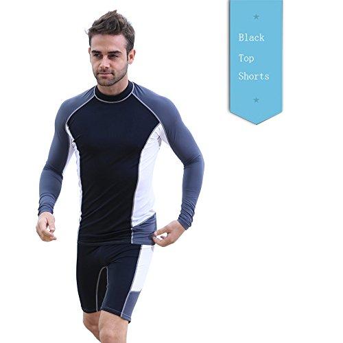 2e694ec959 Wetsuit Men Rashguard Swimming Suit Snorkeling Wetsuits Men Surfing  Swimsuit Diving Wet Suit Top Swim Shirt - Buy Online in UAE.