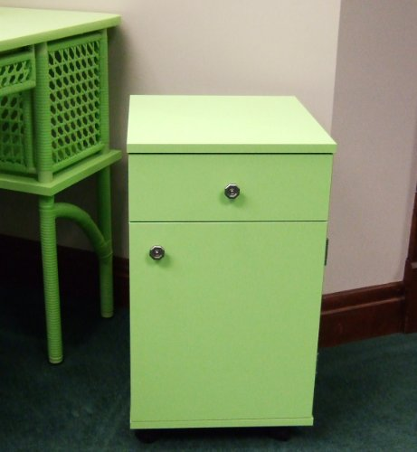 Arrow Sewing Cabinet Suzi Sewing Storage Cabinet with Four Drawer – Green Arrow Sewing Cabinet Suzi