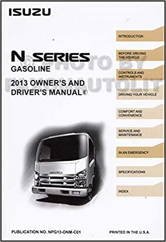 2013 isuzu npr hd service manual