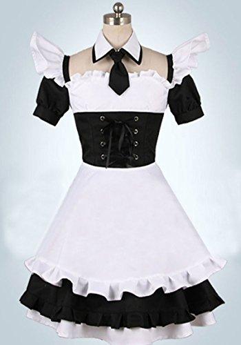 [FOCUS-COSTUME Code Geass CC Maid Dress Cosplay Costume] (Cc Code Geass Costumes)