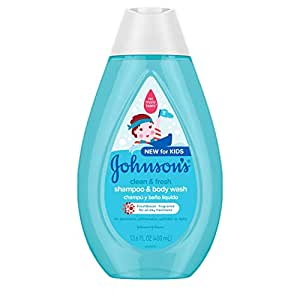 Johnson's Baby Clean & Fresh Children's Tear-free Shampoo & Body Wash, Sulfate-free, 13.6 fl. oz.