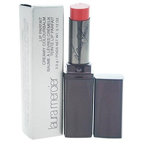 Laura Mercier Lip Parfait Creamy Colourbalm Lipstick for Women, Cherry-on-top, 0.12 Ounce (Laura Stain Lip Mercier)