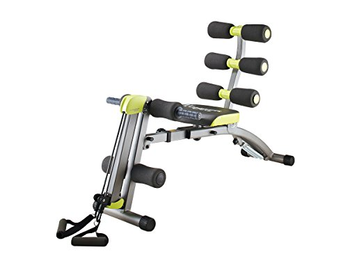 Wonder Core 2 Sit up exerciser - 12 IN 1 New Ab Sculpting System - Ergonomic Design - Beyond 180° - Stretching w/ 360° Twisting For More Muscle Activity - Quality Guarantee