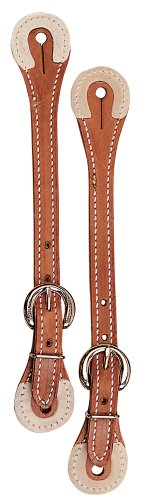 Weaver Leather Spur Straps with Rawhide Corners