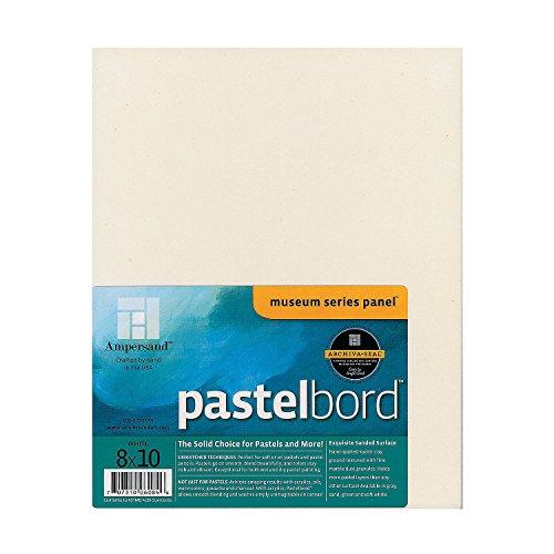 앰퍼샌드 화이트 파스텔 보드 8 인치 x 10 인치/Ampersand White ..