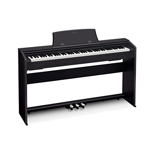 Casio PX-770 BK Privia Digital Home Piano, Black
