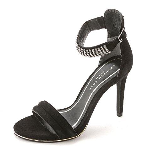 mujer Kenneth Sandalias de Cole Suede York Black para vestir New Rx7B0pR