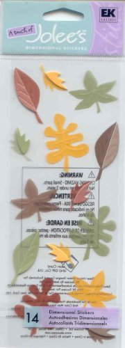 Touch Of Jolee's Dimensional Sticker - Fall Leaves
