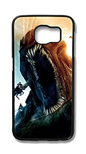 Samsung S6 Case, Galaxy S6 Case - Perfect Fit Black Hard Case for Samsung Galaxy S6 Clash Of The Titans Kraken Scratch-Resistant Hard Case for Samsung Galaxy S6