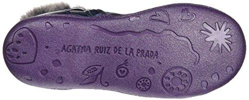 Agatha Ruiz de la Prada 161924, Zapatos de Primeros Pasos para Bebés Azul Marino (Metalcris)