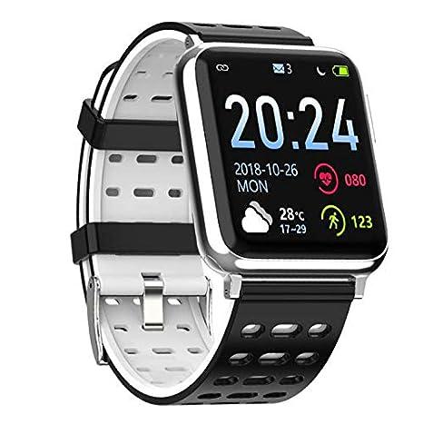 BOND V5 Smart Watch Blood Pressure Wristband Heart Rate Monitor PPG ECG Smart Bracelet Healthy Care (Black)