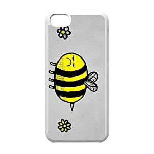 iPhone 5c Cell Phone Case White LEAVE ME BEE BNY_6855597