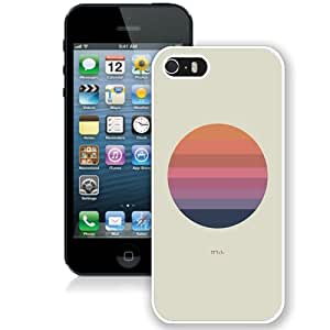 Beautiful And Unique Designed Case For iPhone 5 With Aj Tycho Art Cover Music Illust Minimal (2) Phone Case