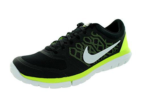 Nike Flex 2015 RN Zapatillas de running, Hombre Black/Volt/White