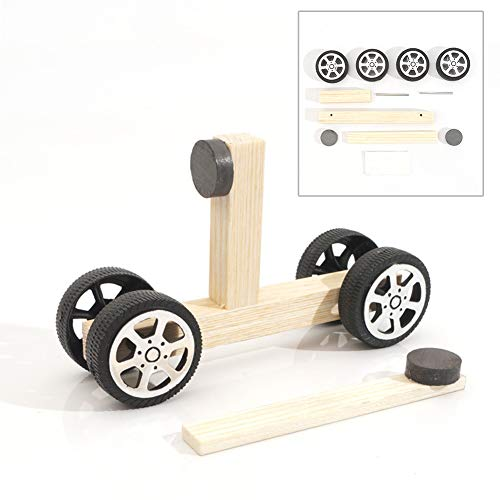 - Angel3292 DIY Inventions Magnetic Car Technology Experiment Educational Toy Teach Set Kit
