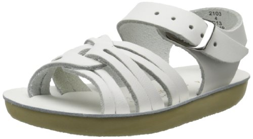 Salt Water Sandals by Hoy Shoe Sea Wees,White,0 M US Infant