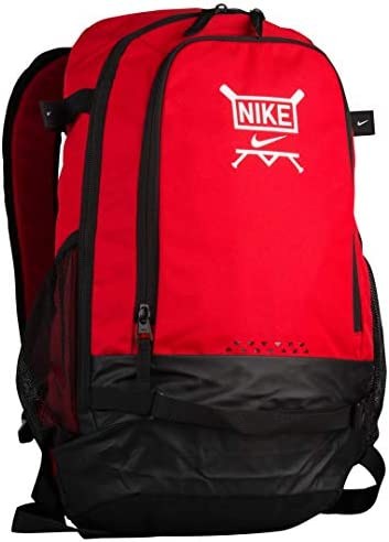 Nike Men s Vapor Clutch Baseball Batpack University Red Black White Size One Size
