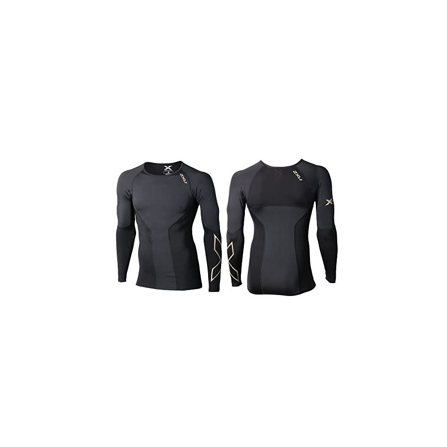 2XU Men's Elite Long Sleeve Compression Top