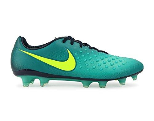 Nike Hommes Magista Opus Ii Fg Rio Sarcelle / Volt / Obsidienne / Clair Chaussures De Football De Jade
