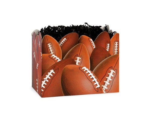 SMALL FOOTBALL Basket Boxes6-3/4x4x5