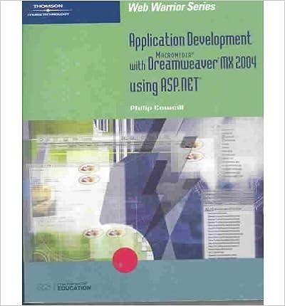 Application Development with Macromedia Dreamweaver MX 2004
