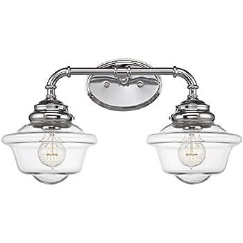 Savoy House 8-393-2-11 Fairfield 2-Light Vanity Bar in Chrome