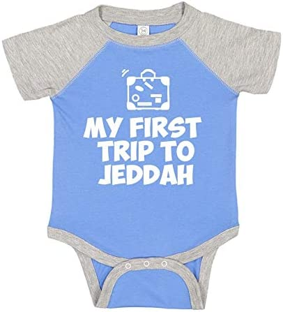 Mashed Clothing My First Trip to Jeddah Toddler//Kids Sweatshirt
