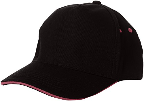Manufacturer Sandwhich Size 5 nbsp;Panel Single Size Hombre Cap para Cap con Brown Peak Hombre Panel béisbol sandwhich Gorra Pink Size One de Otter 5 Amston Regatta Peak with Pink Seal Grey Hot Black Amston fFI6pwUUq