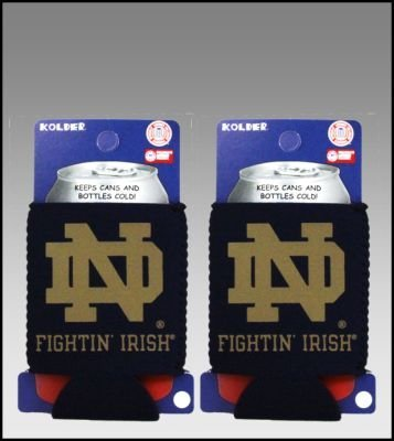 セットの2 Notre Dame Fightin ' Irish Can Kaddy Koozies by Kolder   B002ZKISXE, 湯布院町 54f362cf