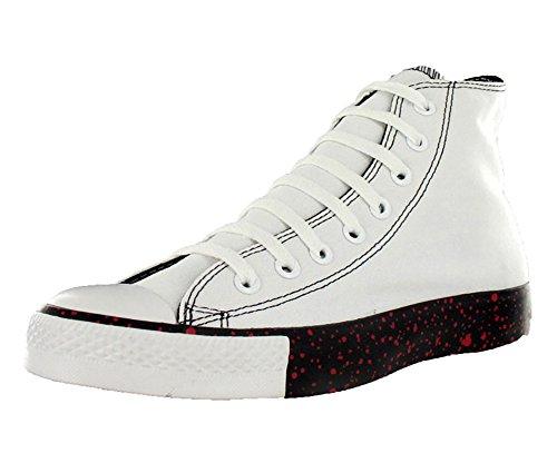Espadrilles supérieures Shoes-5 de Taylor Midsoles du mandrin des hommes de Converse hautes