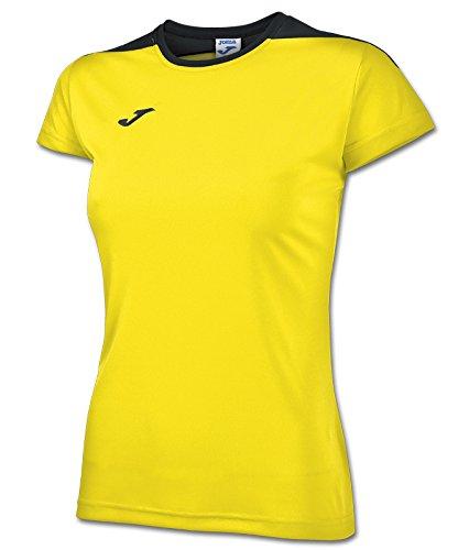 Joma - Camiseta spike amarillo m/c para mujer