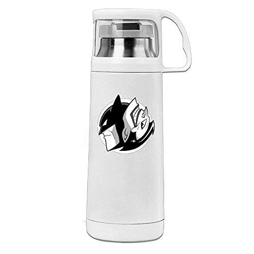 HandSon J3G9 Stainless Steel Vacuum Insulated Insulation Cup Joker Mix Mask Man Handled Traveling Tumbler White (Batman Costume Sydney)