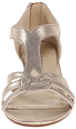 Caldre Women's Footwear Vittadini Sandal Wedge Adrienne Gold RTUwFtntq