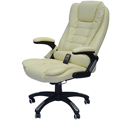 Home Office Computer Desk Massage Chair Executive Ergonomic Heated Vibrating from Unknown