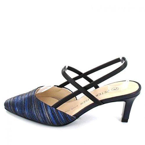 66787985 Femmes Kaiser Bleu Sandales Peter Mitty BYEA6